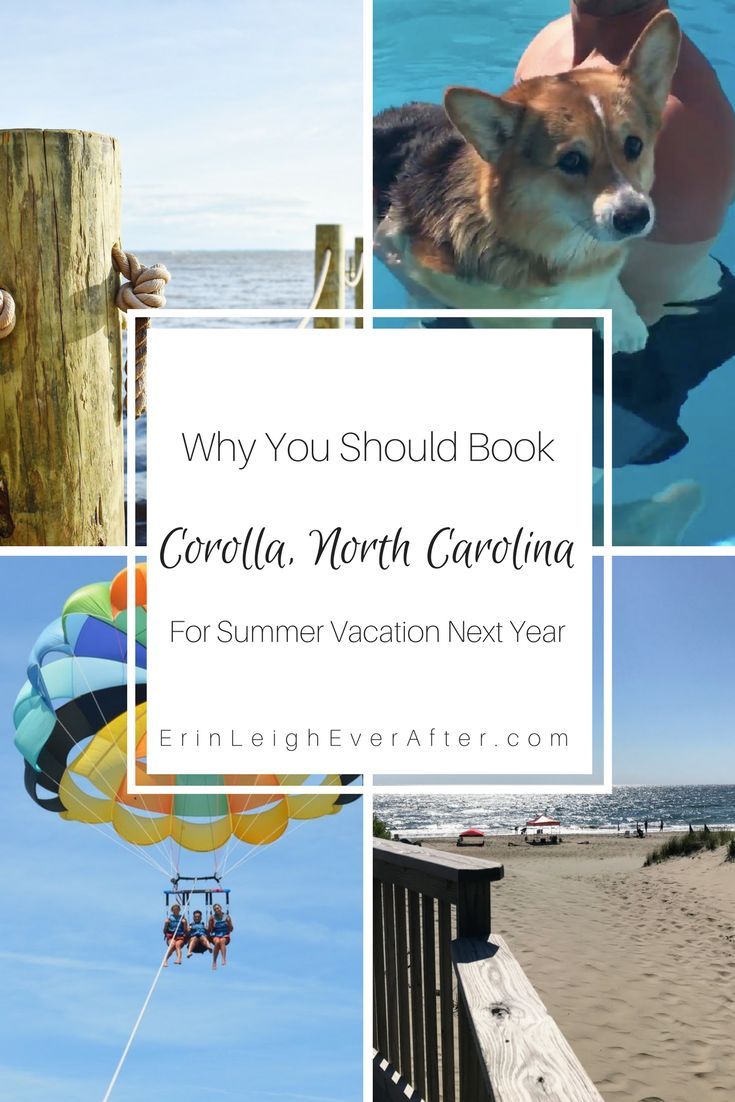 Already have summer on your mind? You need to consider Corolla, North Carolina in the Outer Banks for summer vacation this year. Here's why....