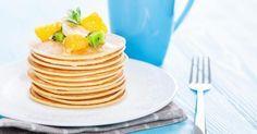 Recette de Pancakes ultra légères pour petit déjeuner détox. Facile et rapide à réaliser, goûteuse et diététique.