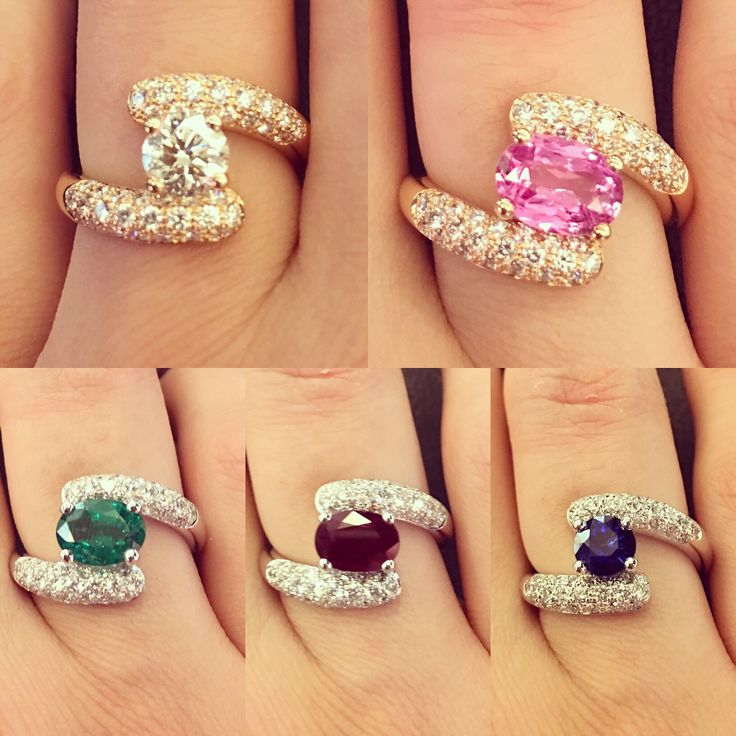Two arms embracing and protecting their lovely stones ~ #waskoll #paris #2017 #love #protection #embrace #gold #stone #diamond #ruby #sapphire #emerald #pink sapphire