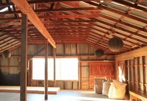 Rustic themed wedding?  Criffel Station Woolshed