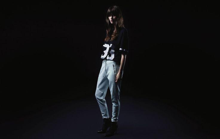T-Shirt ALEX Black Jog SWEET1 Argile