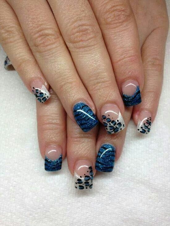 21 Wild Leopard Print Nail Designs for 2016 - Pretty Designs - 35 Best Nails Images On Pinterest French Nails, French Tips And