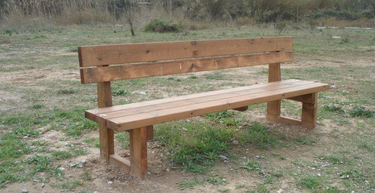 Bancos incofusta fabrica de madera en valencia bancos de madera pinterest ideas - Fabricas de madera ...