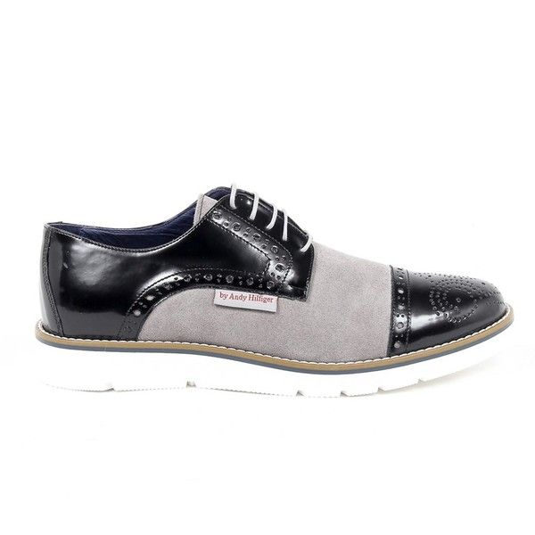 Andrew Charles Mens Brogue Oxford Shoe (735 BRL) ❤ liked on Polyvore featuring men's fashion, men's shoes, men's oxfords, multicolor, shoes, mens shoes, mens oxford shoes, mens brogues and colorful mens shoes