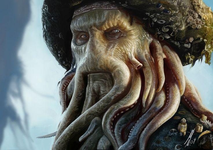 Davy Jones by ~M1keN on deviantART
