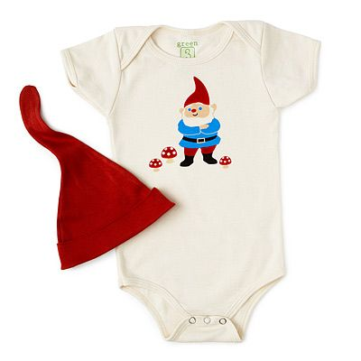 gnome babysuit and hatFor Kids, New Parents, Gift Ideas, Gardens Gnomes, Gnomes Babysuit, Baby Gnomes, Baby Outfit, Baby Gift, Baby Stuff