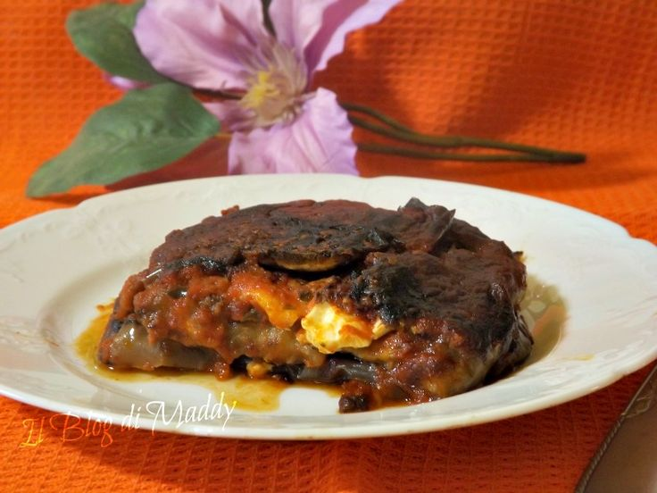 Parmigiana+di+melanzane+non+fritte