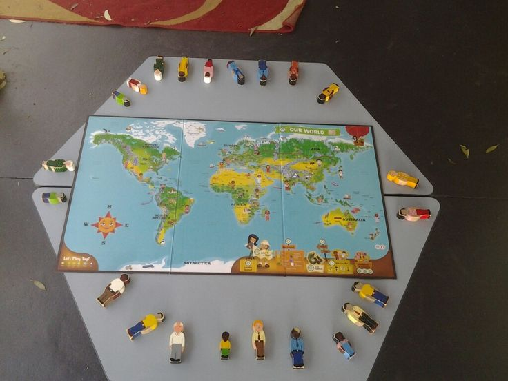 Fun way for children to learn about people all over the world