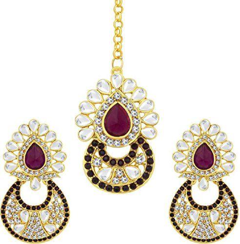 VVS Jewellers Elegant Purple Stone Kundan Wedding Bridal ... https://www.amazon.com/dp/B071W8HMTC/ref=cm_sw_r_pi_dp_x_7BNpzbGDG40T2