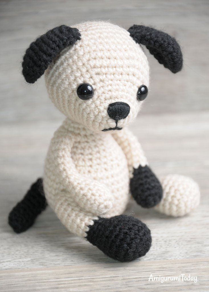 Tommy the Dog crochet pattern - printable PDF