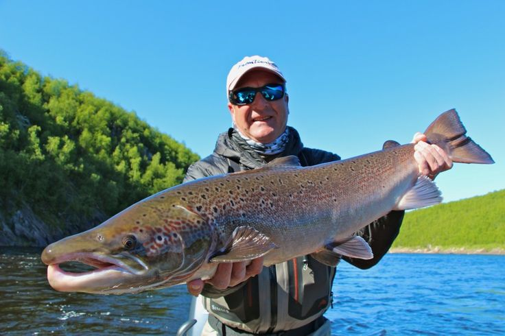 Atlantic Salmon on Fly in Russia