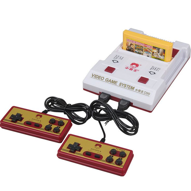 Hot Sale Classic Nostalgic 8 bit Video Games Console Player with 2 Joystick + 500 IN 1 Game Card Game Player to TV