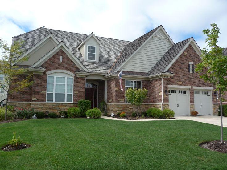 12 best meritus homes semi custom homes images on for Custom built brick homes