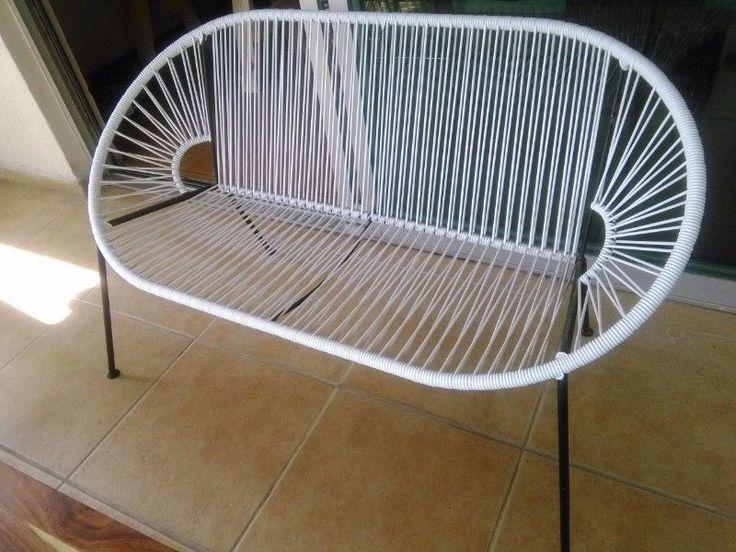 Vendo este sillón tejido blanco tipo acapulco para más de una persona. Estoy en Guadalajara, jalisco, si pasan por él se les hace un 10% de ...120993189