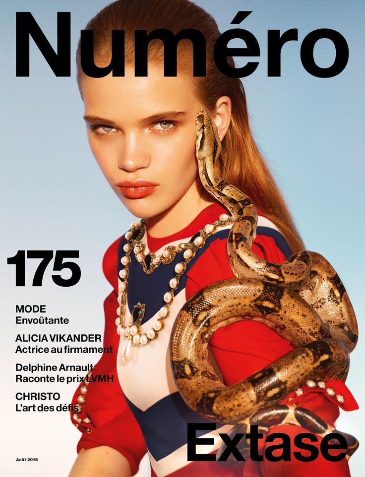 Cover Story : Stella Lucia par Txema Yeste pour le Numéro Magazine d'août
