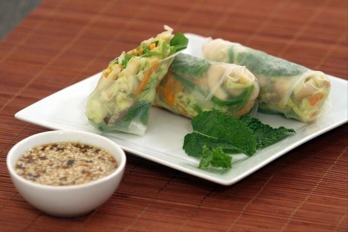 recettes de rouleaux de printemps, les recettes de nos chefs