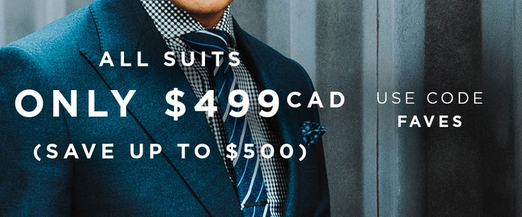 Custom tailored suits made to your measurements from exquisite fabrics. Complimentary customizations and free shipping. Perfect for business and everything else.