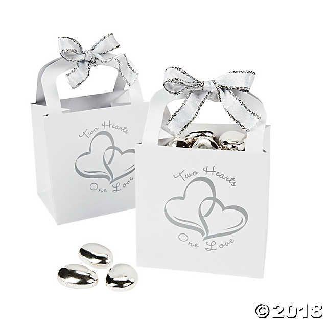 Two Hearts Wedding Favor Gift Baskets Wedding Pinterest