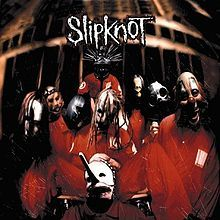Slipknot's self-titled debut album. Back in the summer of 2010 I went to CeX one day and bought three CD's, and this was one of the three. This was just after I had bought 'The Fall Of Ideals' and so I was beginning to become hooked on heavier music, I bought this one on the recommendation of a friend who was very much into Slipknot at the time. Id now consider them one of my favourite bands. [: