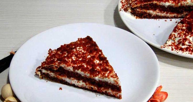 Receta fácil de red velvet cake sin azúcar, especial para diabéticos. Ideal para celebrar San Valentín o cualquier otra ocasión! ¡Riquísimo! :)
