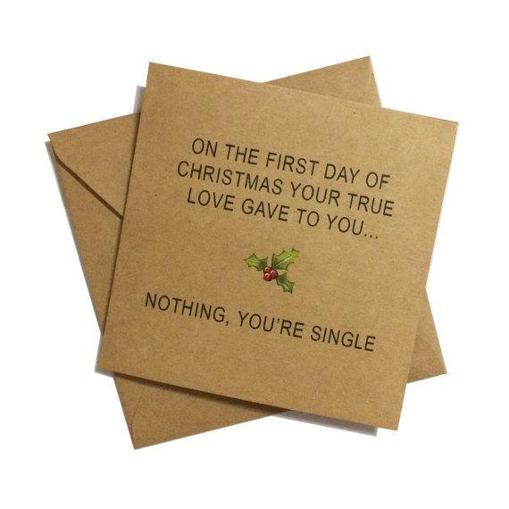 #Funny #Christmascard #Handmade