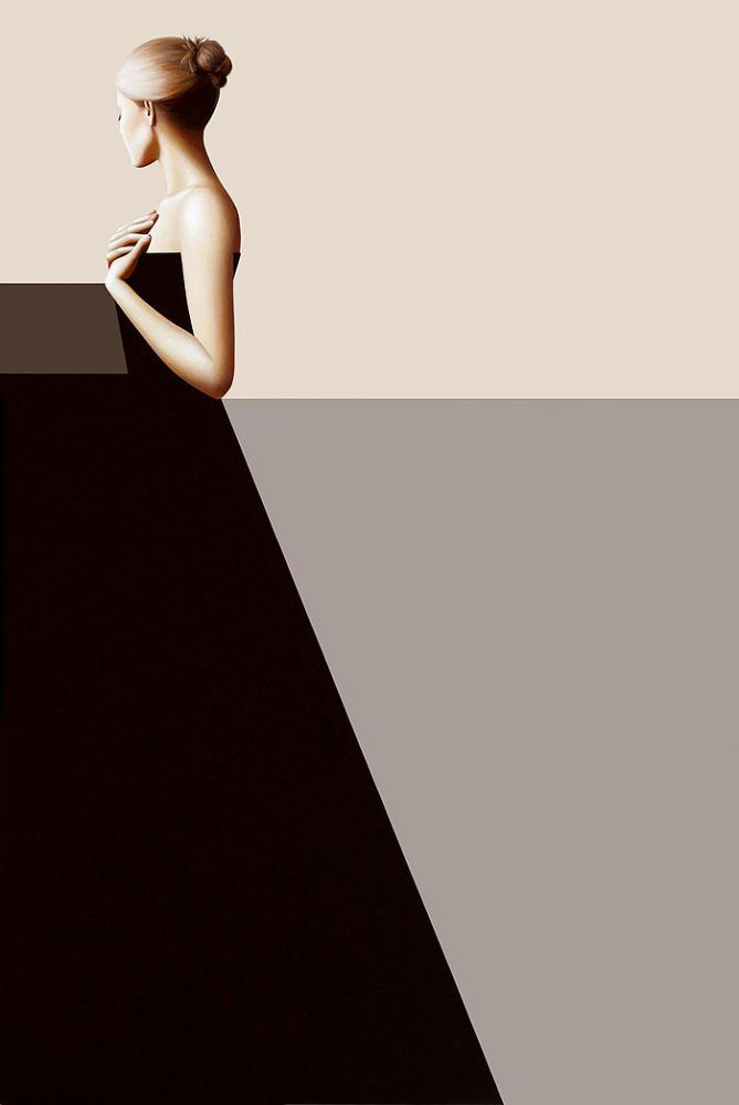 Minimalist Paintings by Erin Cone | Inspiration Grid | Design Inspiration