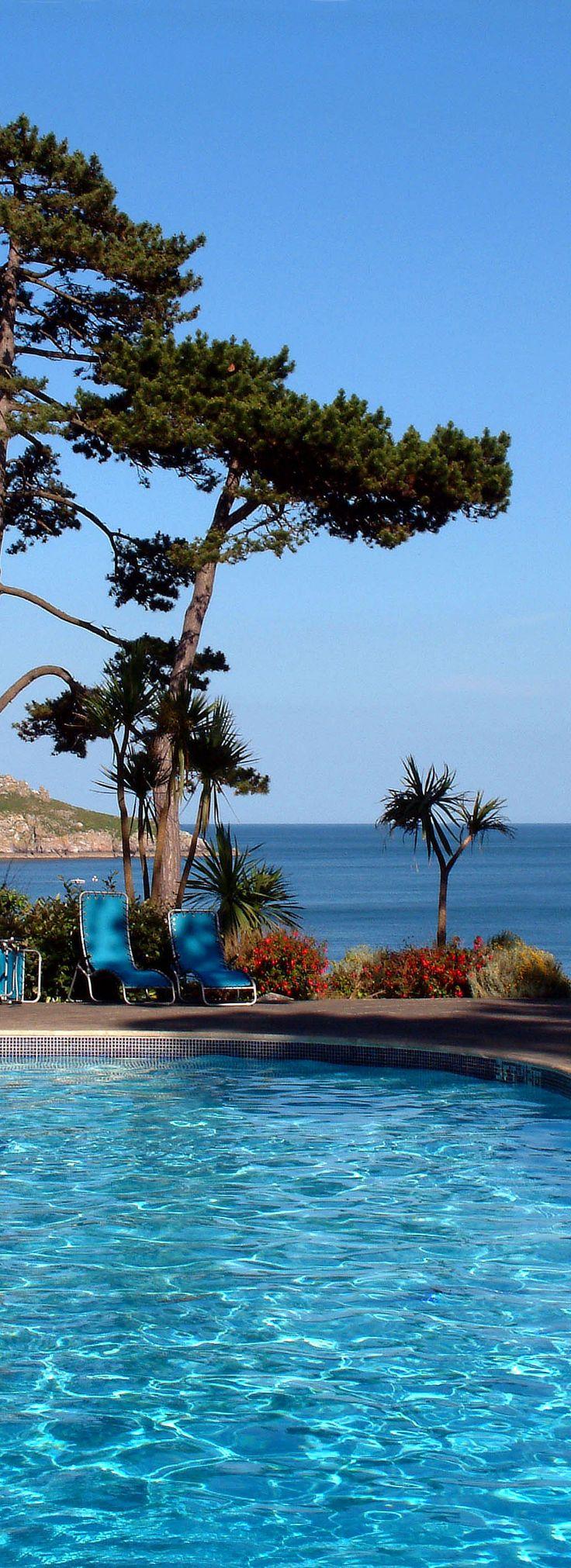 Blue Pool, Osborne Hotel, Torquay, Devon, England. http://www.ilovesouthdevon.com