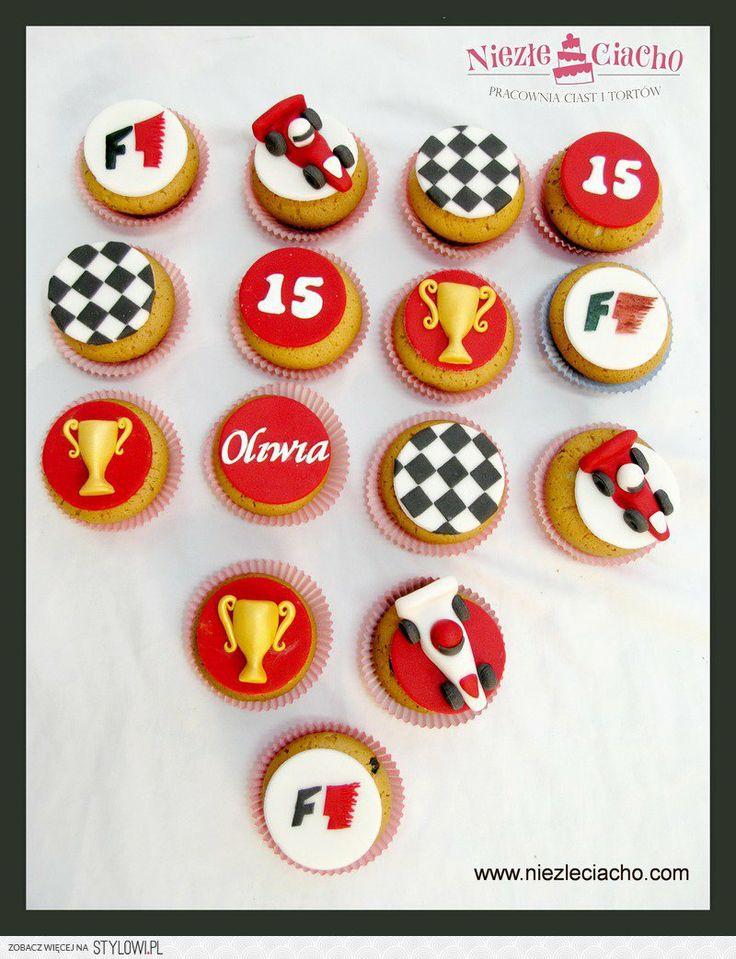 Formuła 1, wyścigi, rajdy samochodowe, samochody rajdowe, puchar, cup cake, Tarnów