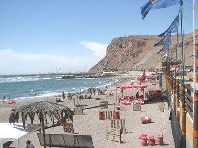 Playa El Laucho, cerca de Arica, Chile