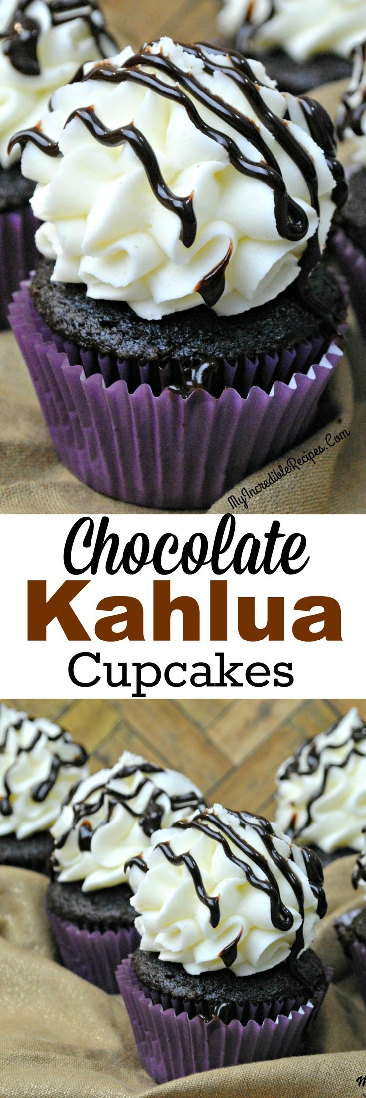 Chocolate Kahlua Cupcakes!