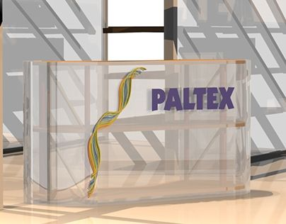 """Check out new work on my @Behance portfolio: """"Stand Paltex un programa de la OMS"""" http://on.be.net/1fF0g2W"""