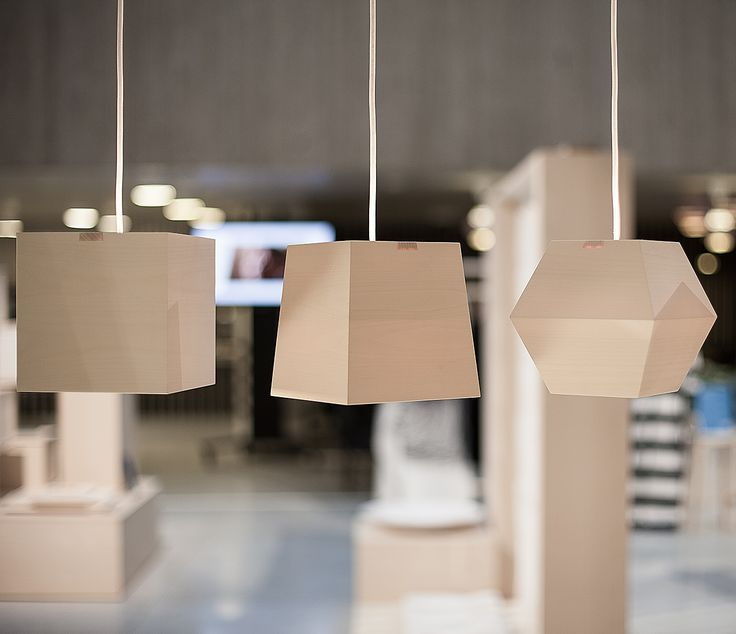 """Valo"" lamps at the HDO 2013 event in Helsinki. Design Susan Elo."