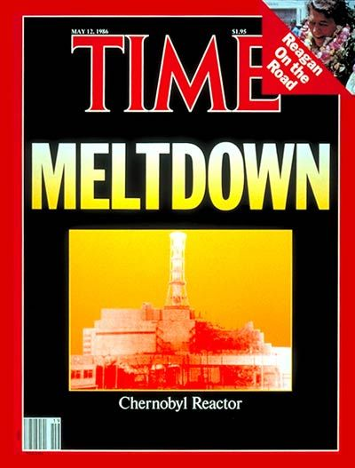 TIME Magazine Cover: Chernobyl Reactor - May 12, 1986