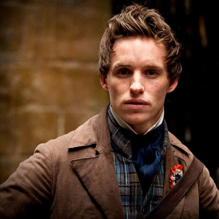 Marius Pontmercy (Les Miserables, Film) #INFP   INFPs ...
