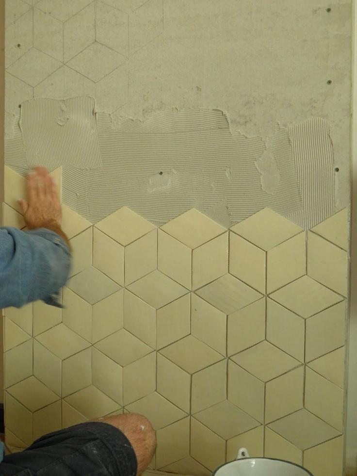 tumbling cubes tiling