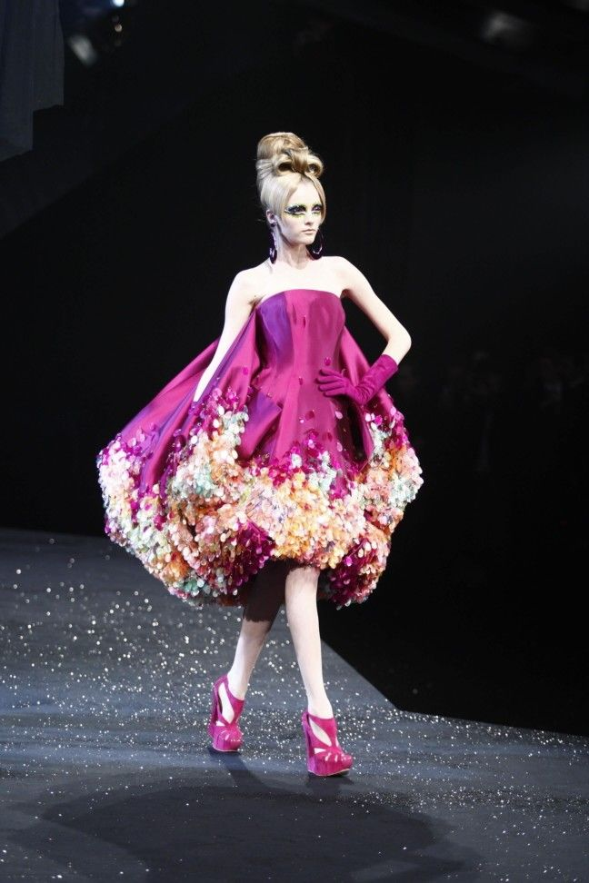 Vlada ic Dior couture