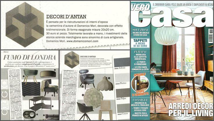 In #VeroCasa #magazine we find #DomenicoMori.