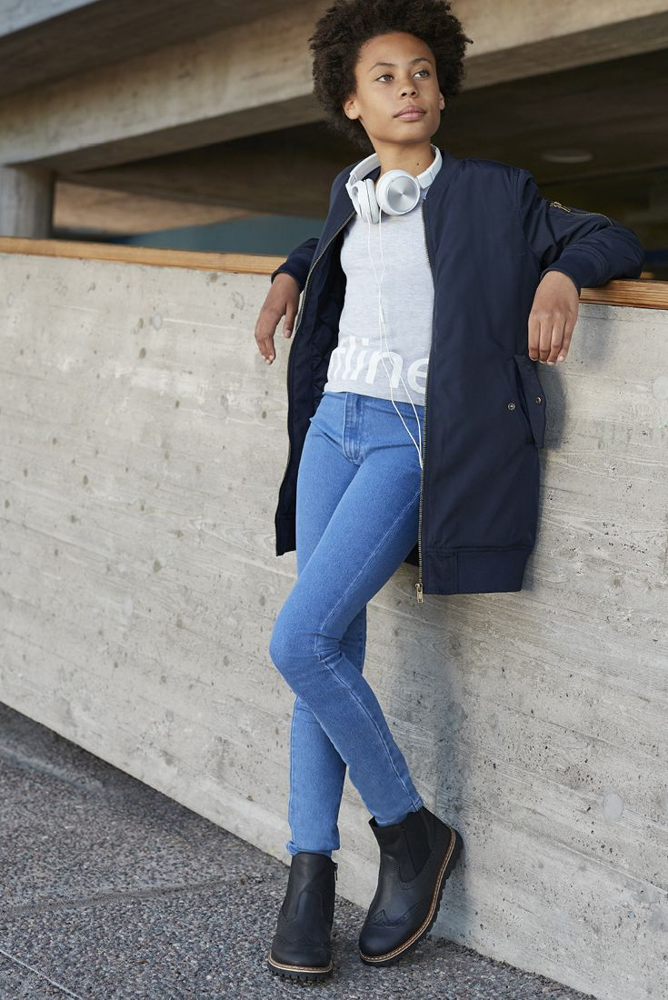 Guaranteed to be always in style: jeans! This look from BEL and much more at Stockmann's. #stockmann #inspiroidu