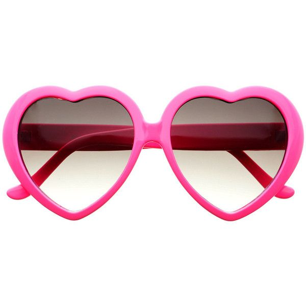 Cute large heart shaped sunglasses inspired by hippie fashion for everyday funky look Sunglasses dimensions: Frame Height: 60mm Frame Width: 140mm