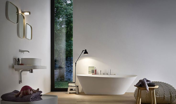 Elegant bathtub at the beart of Fonte Collection