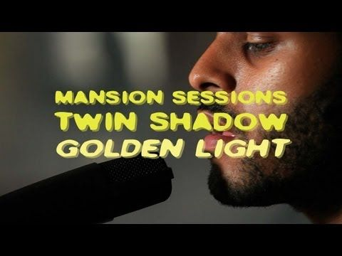 "Twin Shadow Performs ""Golden Light"" in what the youtube description calls an ""abandoned Brooklyn mansion."" Damn hipsters."