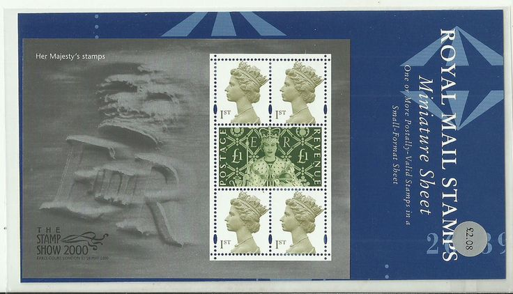 2000 Her Majesty's Stamp Show presentation pack Just listed and open to bids!!!