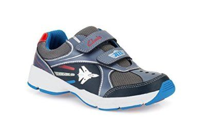 Ideal for splashing in puddles and playtime Clarks Jet Stomp Infant Boys Trainers