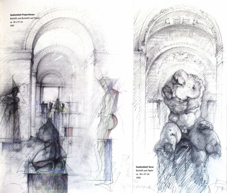 100 Architectural Drawings By Famous Architects V2