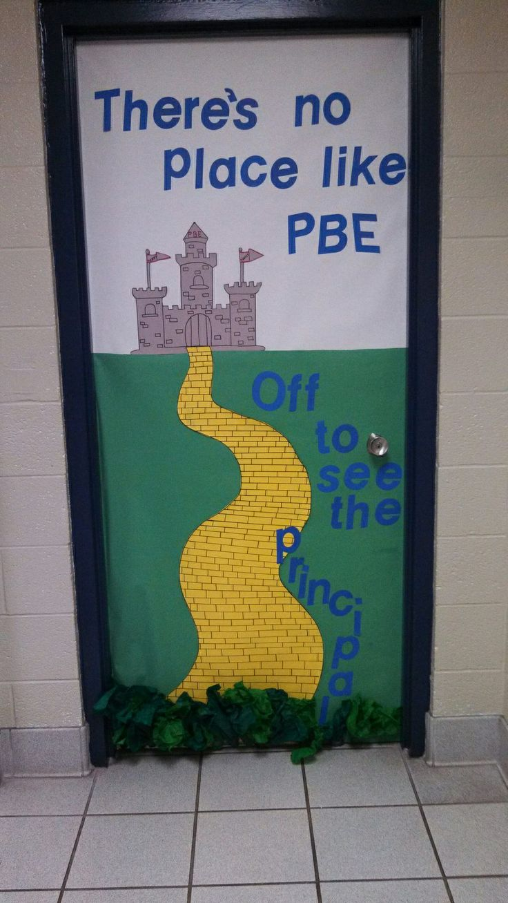 Wizard Of Oz Themed Door Decoration Wizard Of Oz Unit