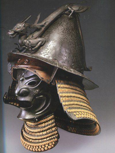 Kawari kabuto and somen,  Stibbert museum, Italy.