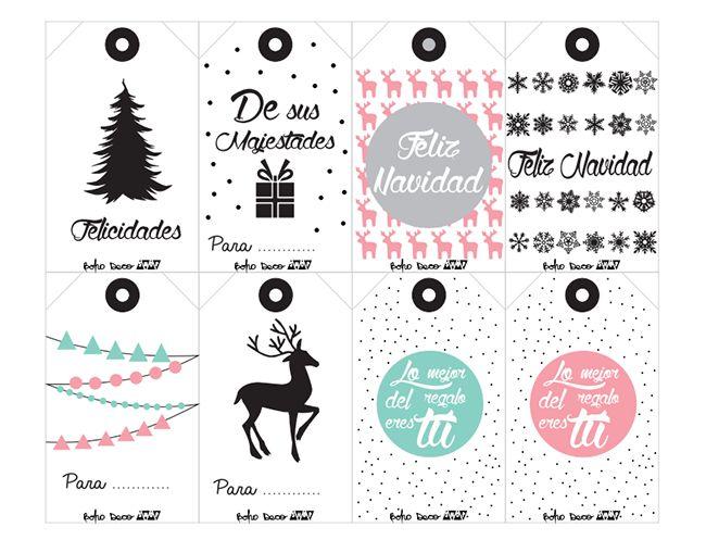 descrgate gratis nuestras etiquetas de regalos de navidad