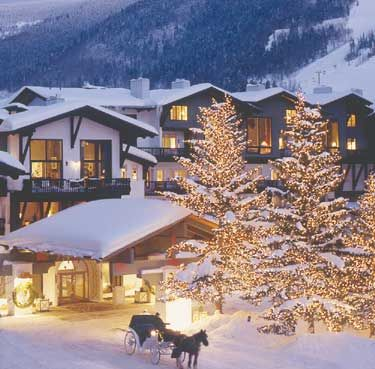 The Lodge at Vail. A wedding venue in Vail, Colorado. #mountainwedding