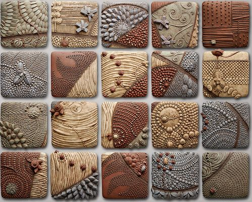 Zentangle Clay Tile Laura S Board Pinterest Clay