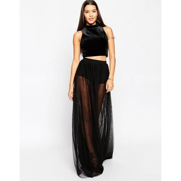 17 best ideas about Sheer Maxi Skirt on Pinterest | Elegant ...